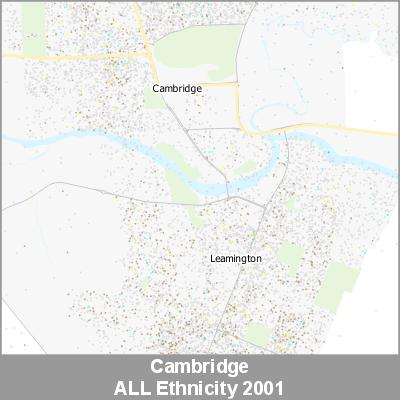 Ethnicity Cambridge ALL ProductImage 2001