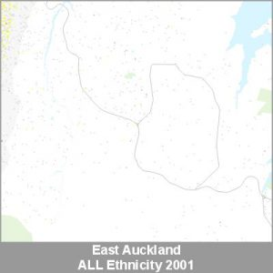 Ethnicity East Auckland ALL ProductImage 2001