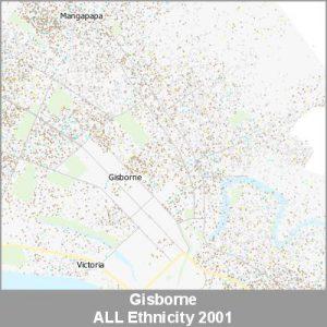 Ethnicity Gisborne ALL ProductImage 2001